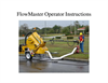 FlowMaster Operator Instructions Manual
