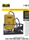 Vac-Tron - SV 500 - Mud & Slurry Excavation and Recovery Vacuum Brochure