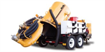 Vac-Tron - Models LP 555 - Trailer Mounted Hydro-Excavation System