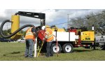Vac-Tron - Model AIR 573/873 SDT - Air and Hydro Vacuum Excavation