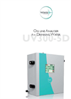 Tethys Instruments - Model UV300-5D - Online Drinking Water Analyzer Brochure