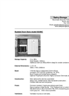 Model SS2IBC - Bunded Drum Store System Brochure