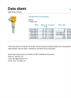 Model 2290 - Non-Contact Radar Level Transmitter - Technical Datasheet