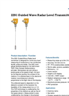 Model 2291 - Guided Wave Radar Level Transmitter Datasheet