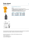 GF Signet - Model Type 2750 - pH/ORP Sensor Electronics - Datasheet