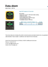 GF- Model Type 8350 - Temperature Transmitter - Datasheet