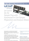 In-Line Sample Preparation Analysis Modules Brochure