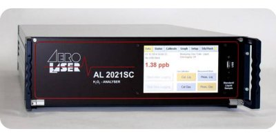 Model AL2021SC - Single-Channel H2O2 Analyzer for Air and Water Samples