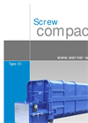 Model SKPCA/M.E - Wet Waste Compactors Brochure