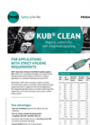 KUB Clean - Hygienic Rupture Disc With Integrated Signalling - Brochure