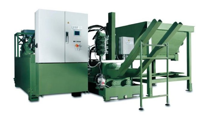 Briquetting systems for wood and metal