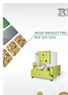 RUF SZ1+ - Wood Briquetting System - Brochure