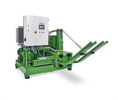 RUF - Wood and Biomass Briquetting Machines / Briquetting Press for Organic Material