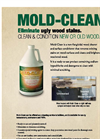 Mold-Clean - Wood Cleaner and Surface Conditions Brochure