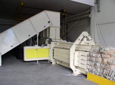 ANIS - Model ATS - Channel baler ANIS  ATS 80-100D-4H