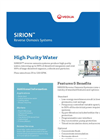 Sirion - Reverse Osmosis Systems Brochure