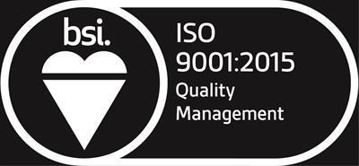 Hughes Safety Showers Ltd achieves ISO 9001:2015 standard