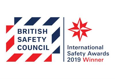 Hughes Awarded International Safety Award 2019 from British Safety Council