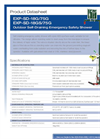 Hughes Safety - Models EXP-SD-18G/75G and EXP-SD-18GS/75G - Datasheet