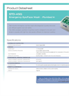 Hughes Safety - Model STD-45G - Wall Mounted Emergency Eye/Face Wash with Integral Lid - Datasheet