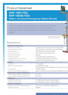Hughes Safety - Models EXP-18G/75G and EXP-18GS/75G - Datasheet