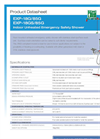 Hughes Safety - Models EXP-18G/85G and EXP-18GS/85G - Datasheet