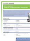 Hughes Safety - Model STD-40K/45G - Datasheet