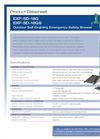Hughes Safety - Models EXP-SD-18G and EXP-SD-18GS - Datasheet