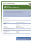 Hughes Safety - Model DEC-V-2 - Datasheet