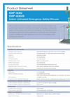 Hughes Safety - Models EXP-63G and EXP-63GS - Datasheet