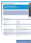 Hughes Safety - Model STD-SD-32K/45G - Datasheet