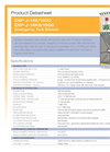Hughes Safety - Models EXP-J-14K/1500 and EXP-J-14KS/1500 - Datasheet