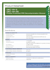 Hughes Safety - Models DEC-VH-5 and DEC-VH-5S - Datasheet