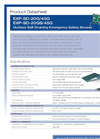 Hughes Safety - Models EXP-SD-20G/45G and EXP-SD-20GS/45G - Datasheet