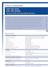 Hughes Safety - Models EXP-SD-63G and EXP-SD-63GS - Datasheet