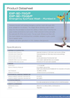 Hughes Safety - Models EXP-SD-75G/P and EXP-SD-75GS/P - Datasheet