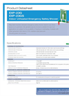 Hughes Safety - Models EXP-23G and EXP-23GS - Datasheet