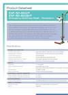 Hughes Safety - Models EXP-SD-85G/P and EXP-SD-85GS/P - Datasheet