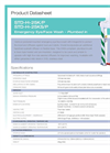 Hughes Safety - Models STD-H-25K/P and STD-H-25KS/P - Datasheet
