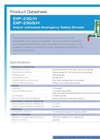 Hughes Safety - Models EXP-23G/H - EXP-23GS/H - Datasheet