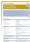 Model STD-TC-100KS/11K - Temperature Controlled Emergency Safety Shower - Datasheet
