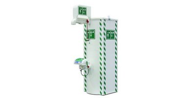 Hughes - Model STD-TC-100K/11K - Outdoor Heated Temperature Controlled Emergency Safety Showers