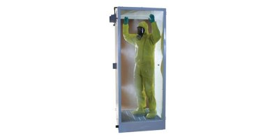 Hughes Safety - Model DEC-DS-6-M - Freestanding Cubicle Damping PPE Decontamination Shower