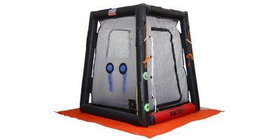Hughes Safety - Model CUPOLA MK1 - Lightweight Inflatable Walk Through Decontamination Shower Unit