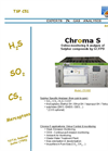 ChromaS - H2S / COS / CS2 / SO2 / RSH Sulphur Compounds Analyzer Brochure