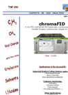 chromaFID Volatil Organic Compounds (VOC) Analyzer - Brochure