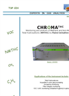 chromaTHC - Total Hydrocarbons Monitoring Analyzer Brochure