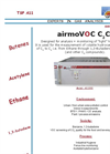 airmoVOC C2C6 Light Volatil Hydrocarbons and 1,3 Butadiene Analyzer Brochure