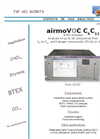 airmo - Model C6C12 - Heavy Volatile Hydrocarbons Analyzer - Brochure