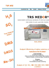 TRS Medor - Sulfur Compounds Analyzers Brochure